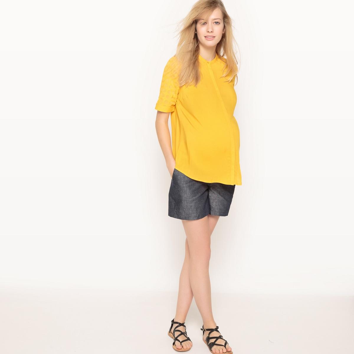 Camisa direita para grávida
