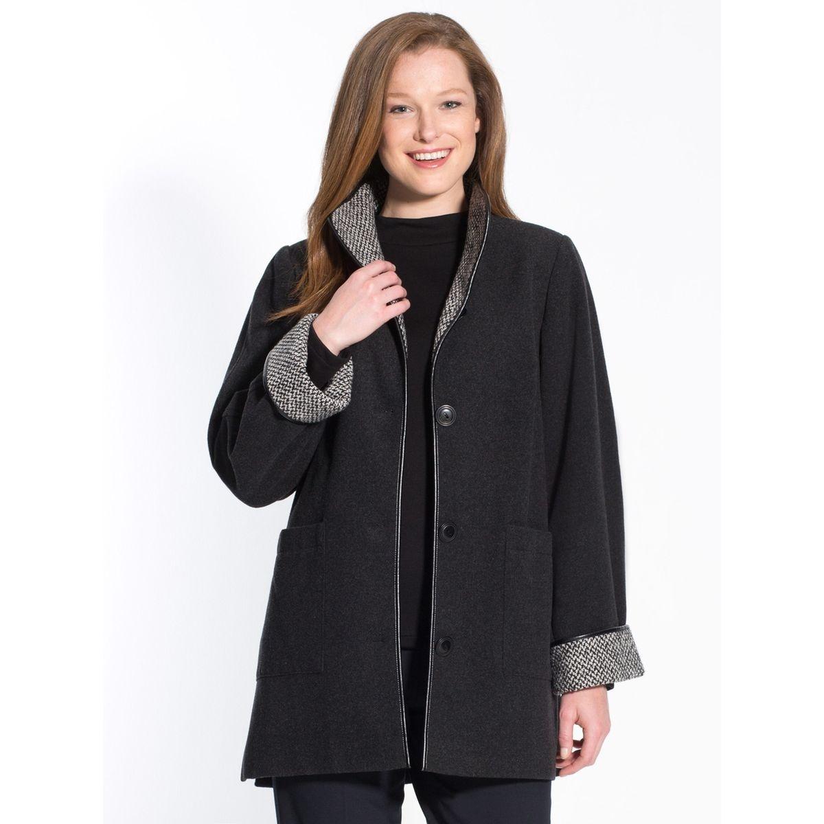 Manteau court, longueur 82 à 88cm