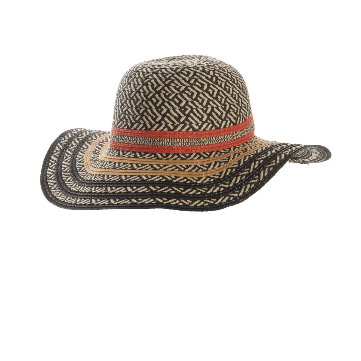 Шляпа из соломыШляпа из соломы разноцветная, R Studio . Невероятно женственная и модная, эта шляпа незаменимый аксессуар этим летом  !  Состав и описание :Материал : 100% соломыМарка : R Studio.Размеры  : Окружность головы 56 см<br><br>Цвет: разноцветный
