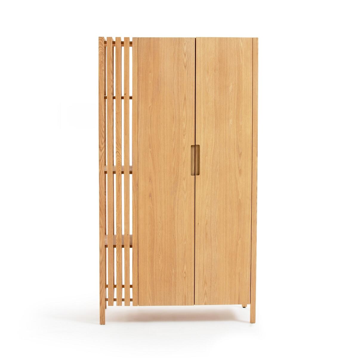 Шкаф LaRedoute С 2 дверками Lazar единый размер бежевый
