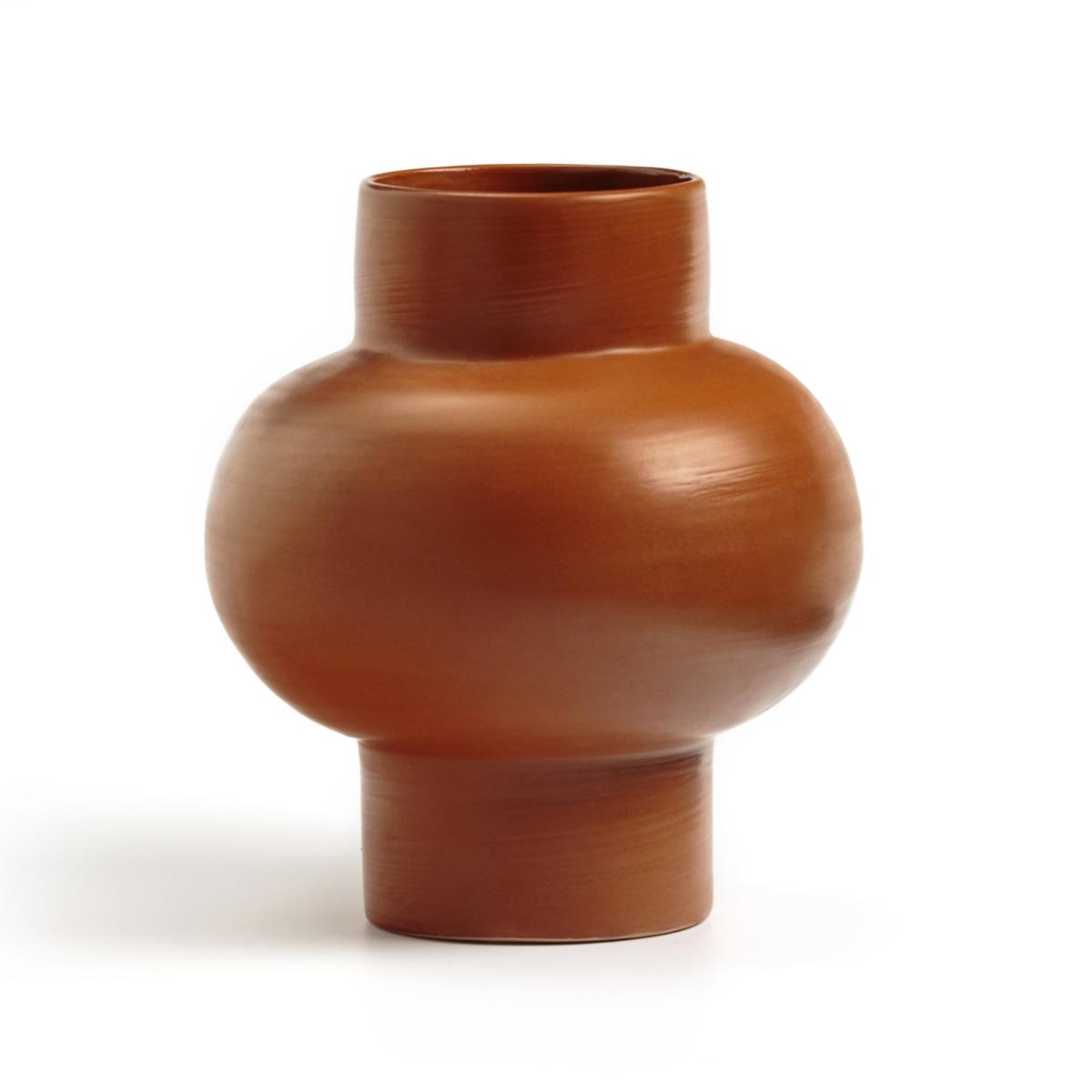 Ваза La Redoute Из керамики В см Santos единый размер каштановый кашпо la redoute в см florian единый размер каштановый