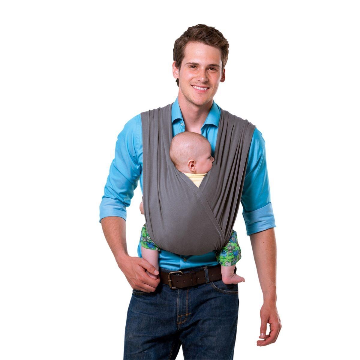 Echarpe de portage sans noeud Carry Baby Stone