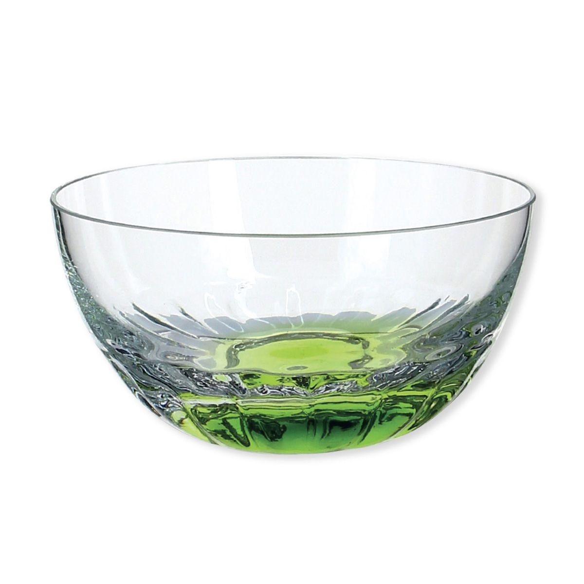 Coupelle à glace couleur vert 27cl - Lot de 4 - SANDY