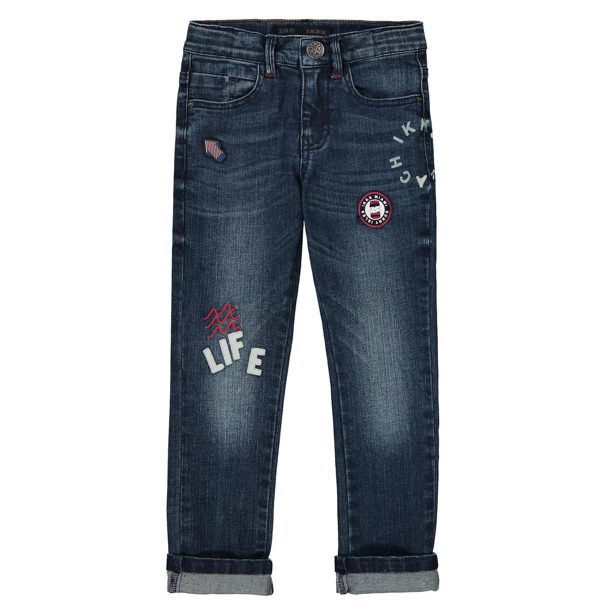 Джинсы узкие, 3 - 14 лет джинсы узкие детские quiksilver lowbrbugbyth pant buggy blue