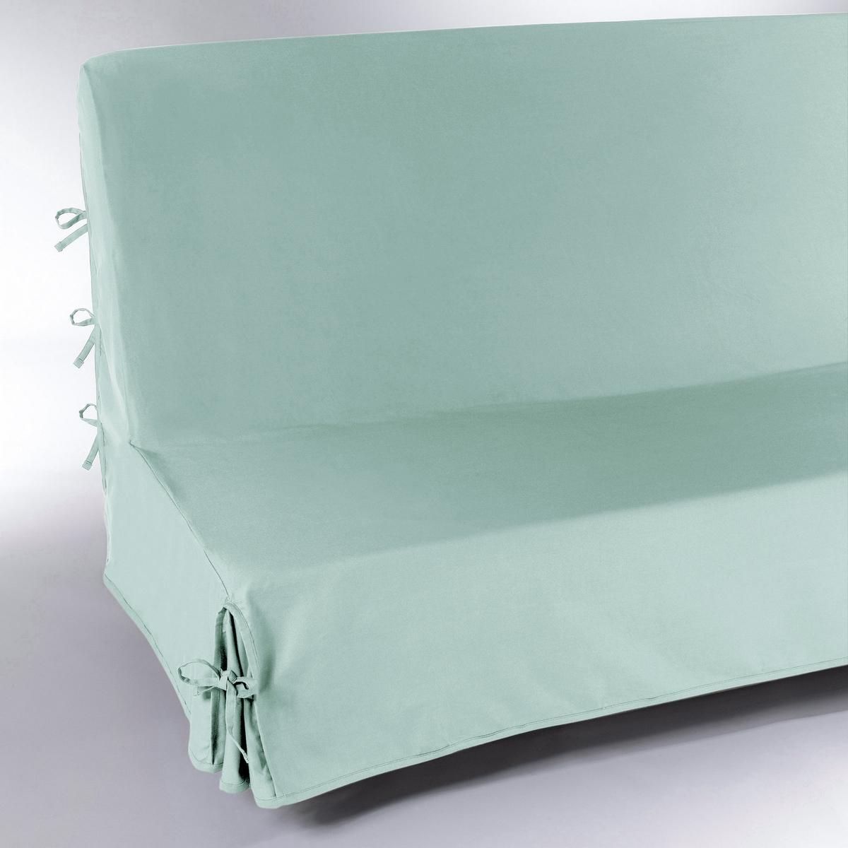 Чехол LaRedoute Для раскладного дивана SCENARIO единый размер зеленый