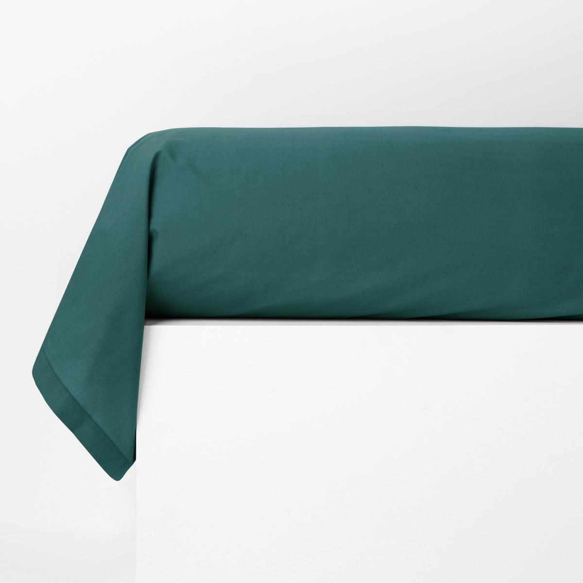 Наволочка LaRedoute На подушку-валик из хлопковой перкали Qualit Best 85 x 185 см зеленый наволочка laredoute однотонная из хлопковой перкали качество qualit best 50 x 70 см розовый