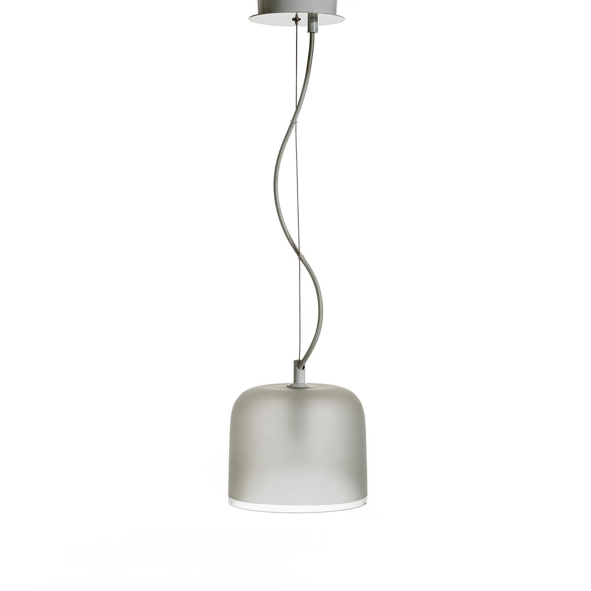 Светильник Zella с 1 абажуром, дизайн Э . ГаллиныСветильник с 1 абажуром   .Кабель из темно-серой ткани от 20 до 130 см  .Патрон E14 для лампочек макс 40W (не входят в комплект) и чаша  .Этот светильник совместим с лампочками энергетического класса A, B, C, D и E  .<br><br>Цвет: белый