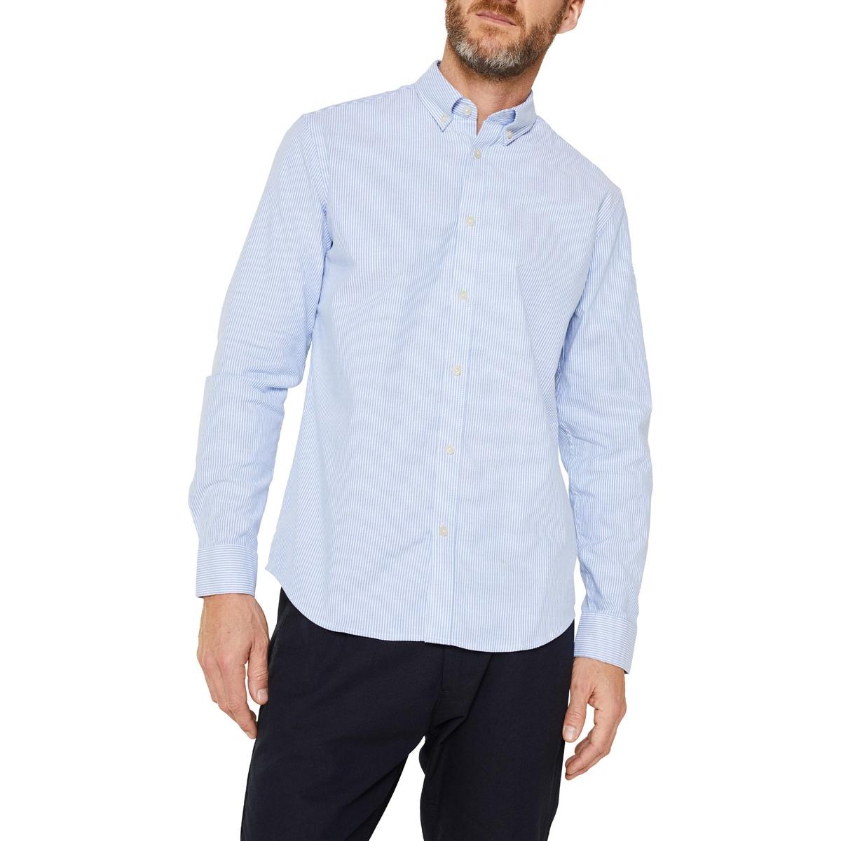 Camisa recta a rayas