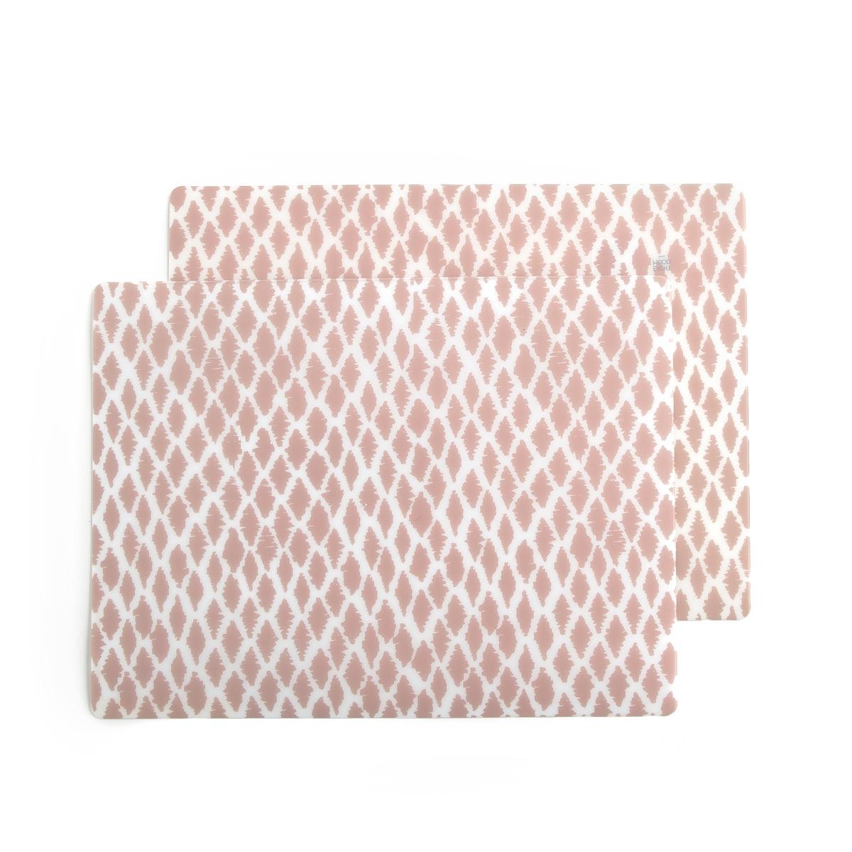 2 подложки под столовые приборы с рисунком IRMIAОписание:2 подложки под столовые приборы с рисунком Irma .Описание подложек под столовые приборы Irmia :Комплект из 2 подложек под столовые приборы.Розово-белый рисунок в скандинавском стиле .   Всю коллекцию Вы можете найти на сайте laredoute.ruРазмеры подложек под столовые приборы Irmia  :30 x 40 см<br><br>Цвет: рисунок светло-розовый
