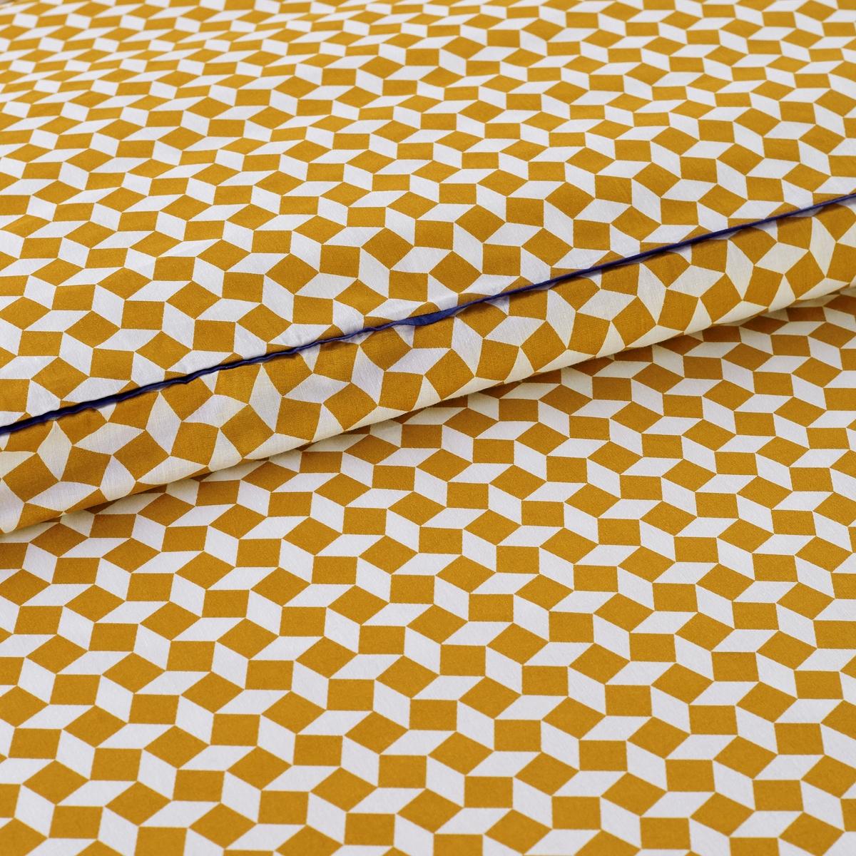 Пододеяльник из хлопковой перкали, Cravate jauneПододеяльник Cravate jaune. На лицевой и оборотной стороне : Очаровательный микро принт с красивой окантовкой !Характеристики пододеяльника из хлопковой перкали Cravate jaune :Хлопковая перкаль, 70 нитей/см? : чем больше количество нитей на см?, тем выше качество материала.Обе стороны с микро принтом, отделка плоским кантом Клапан для заправки под матрасМашинная стирка при 60 °C.Всю коллекцию постельного белья Cravate jaune вы можете найти на сайте laredoute.ru Для размера на 180 на 140 см: длина 180 см, ширина 140 см. Для размера 240 на 140 см: длина 240 см, ширина 140 см. Для размера 350 на 140 см: длина 350 см, ширина 140 см..Знак Oeko-Tex® гарантирует, что товары прошли проверку и были изготовлены без применения вредных для здоровья человека веществ.Размер на выбор :140 x 200 см : 1-сп.200 х 200 см : 1-2-сп.240 х 220 см : 2-сп.260 х 240 см : 2-сп.<br><br>Цвет: желтый