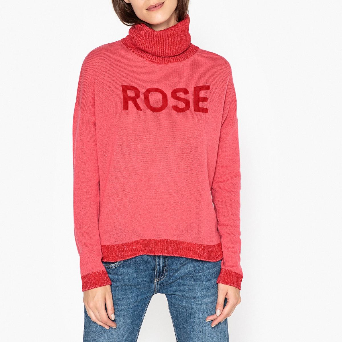 Пуловер с воротником с отворотом из кашемира ELGA