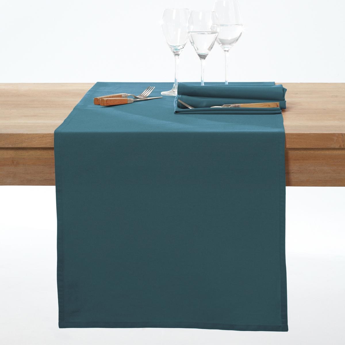 Дорожка La Redoute Столовая с обработкой против пятен SCENARIO 45 x 150 см синий цена 2017