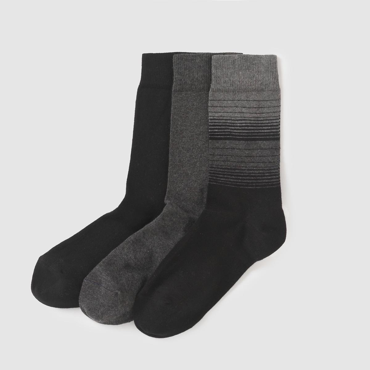 Комплект из 3 пар носков комплект из 5 пар коротких носков из хлопка