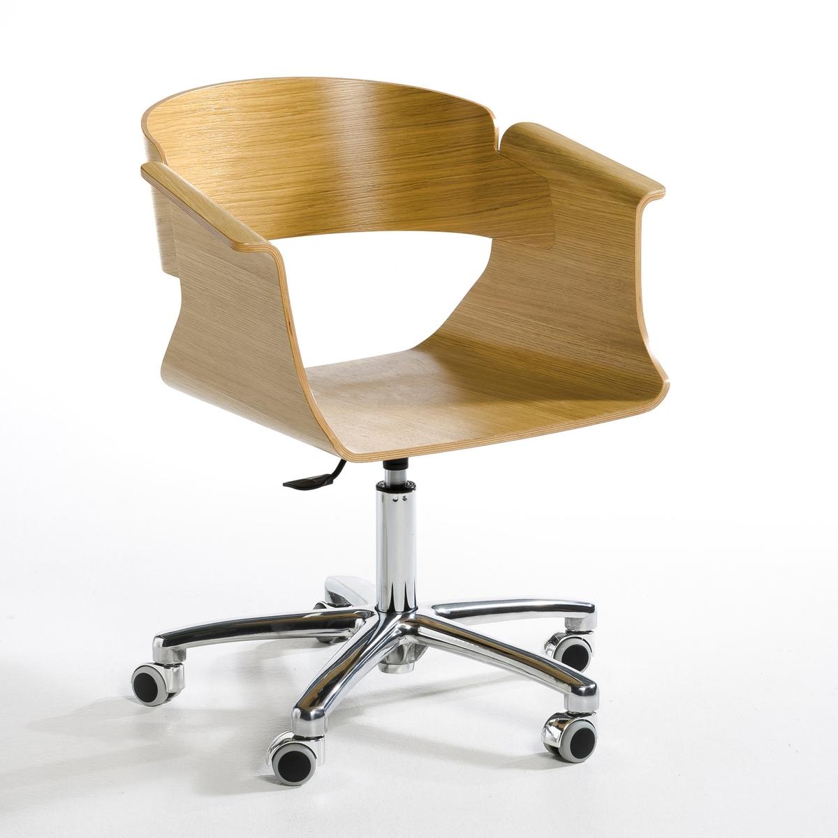 Кресло La Redoute Офисное Suliac единый размер каштановый кружка la redoute из керамики sanna единый размер каштановый