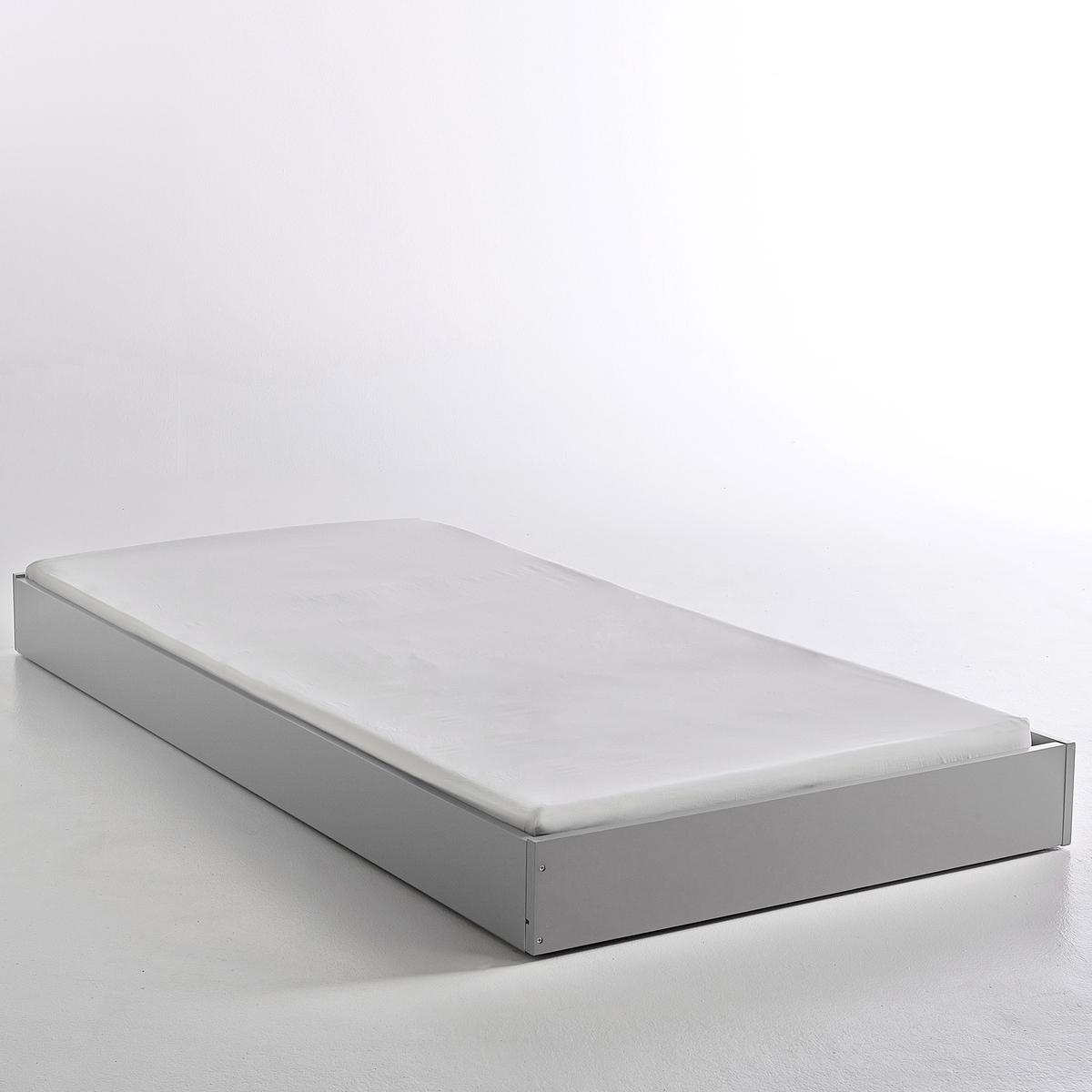 Ящик-кровать 1-спальный винтажный в стиле ретро Adil