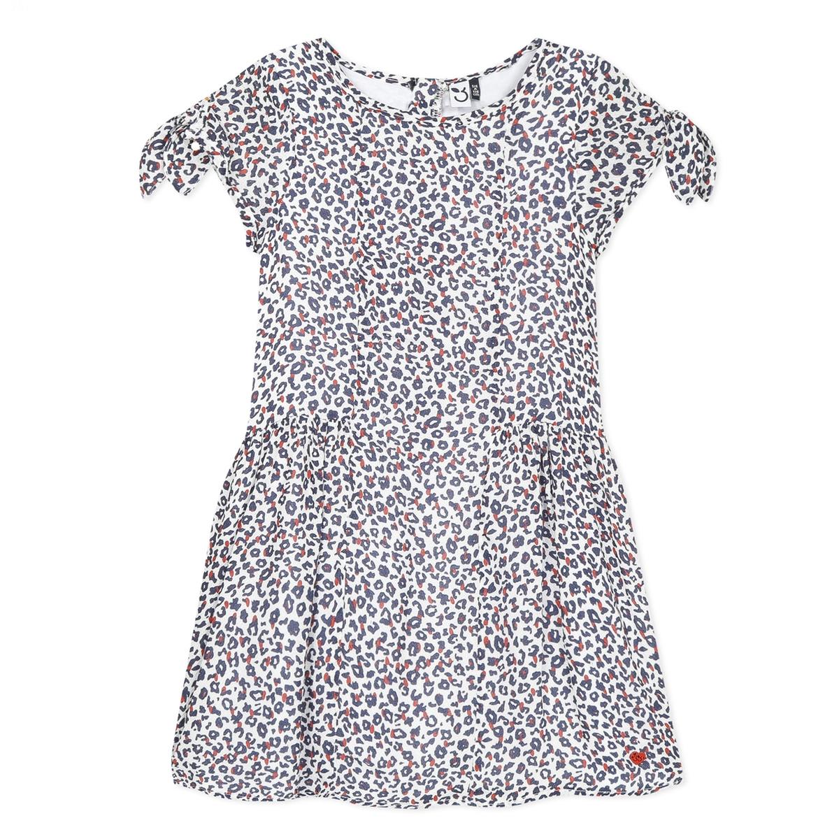 Leopard Print Dress 3 4 Years