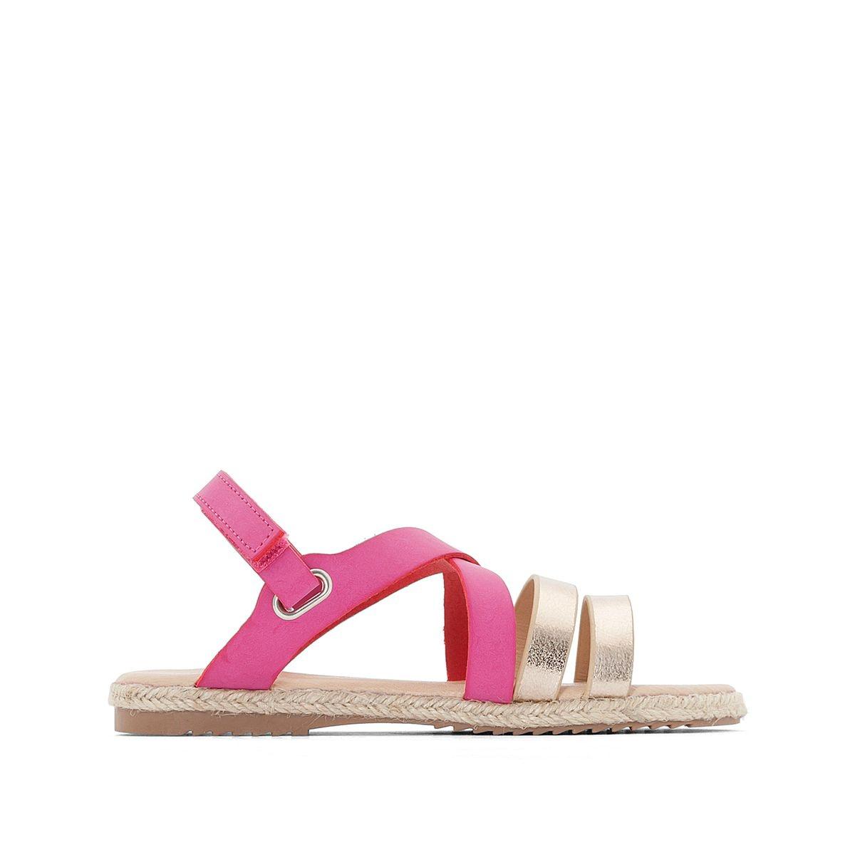 Sandales semelle corde