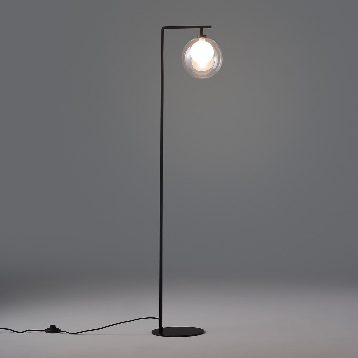 Arvin Metal & Glass Floor Lamp