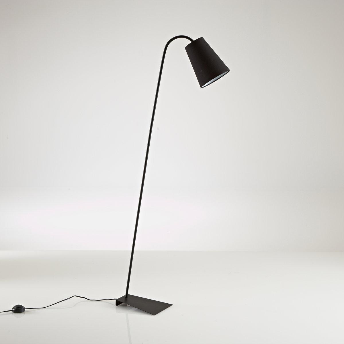 Светильник для чтения из металла, PactusИзысканный дизайн светильника для чтения Pactus и современный стиль  : будет уместным в прихожей, гостиной или спальне .Описание светильника Pactus :Патрон E27 для флюокомпактной лампочки 15W (не входит в комплект)  .Этот светильник совместим с лампочками    энергетического класса   : A Характеристики светильника  Pactus  :Металл с эпоксидным покрытиемАбажур из черной или белой ткани . Найдите подходящую настольную лампу и всю коллекцию Pactusна сайте laredoute.ru .Размер светильника  Pactus :Абажур :   ?20 x Выс 49 см Общая высота : 138 см . Размеры и вес коробки : 1 упаковка53 x 26 x 26 см .2,25 кг .<br><br>Цвет: белый,красный,сине-серый,черный
