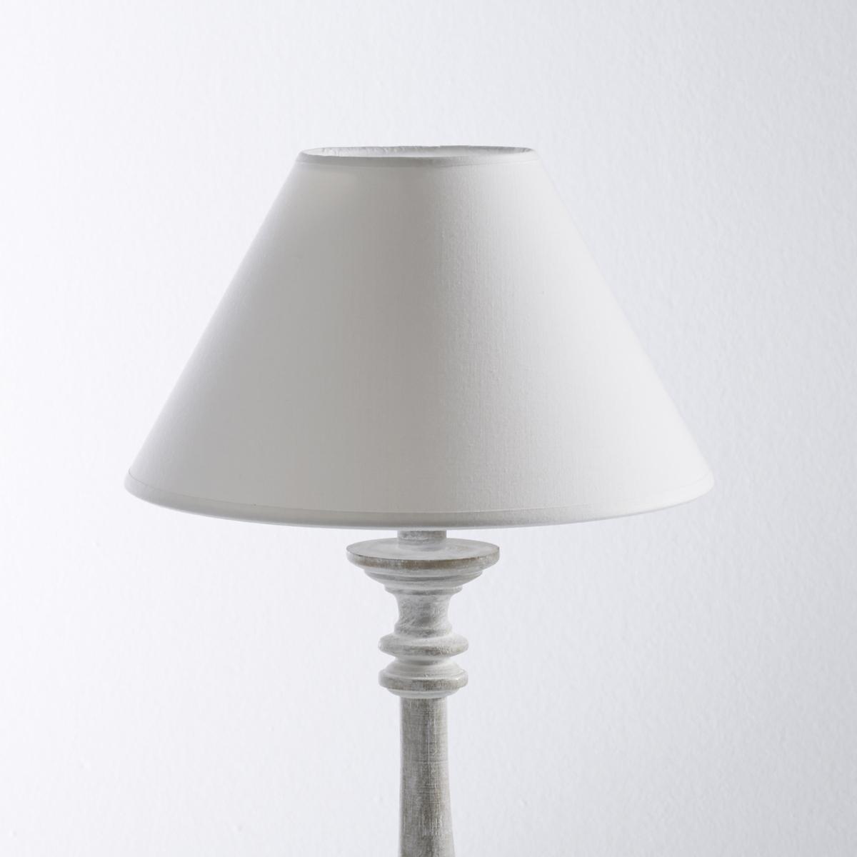 Абажур конусообразныйОписание абажура:Конусообразная форма. Для патронов E27. Описание абажура:100% хлопок.Размеры абажура:Диаметр по низу 25 смВысота 13,5 см.<br><br>Цвет: белый,золотистый,серо-коричневый,серый,экрю