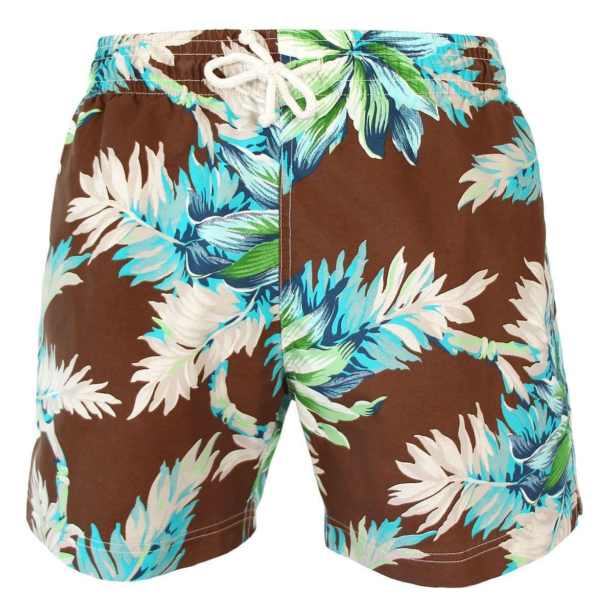 Short de bain Tropical flower JULES