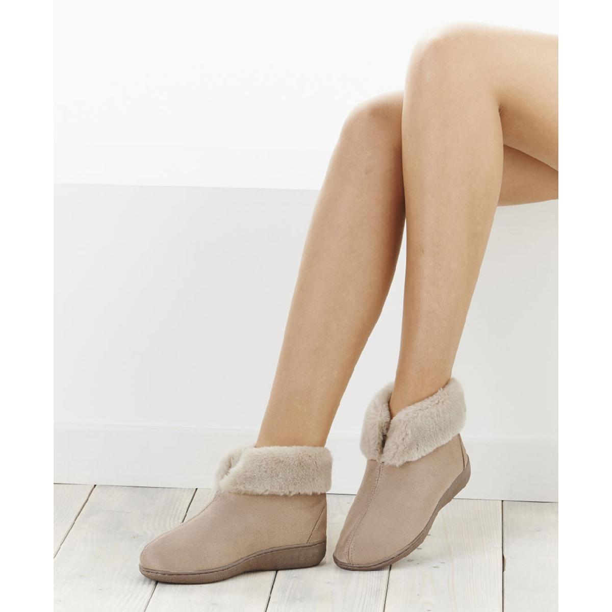 Туфли-ботинки на меху Thermolactyl® тапки на меху войлочные thermolactyl®