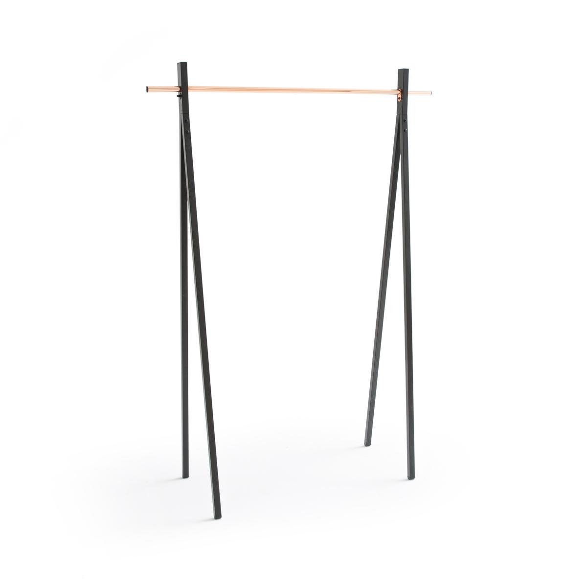 Вешалка La Redoute Напольная из металла и меди единый размер черный
