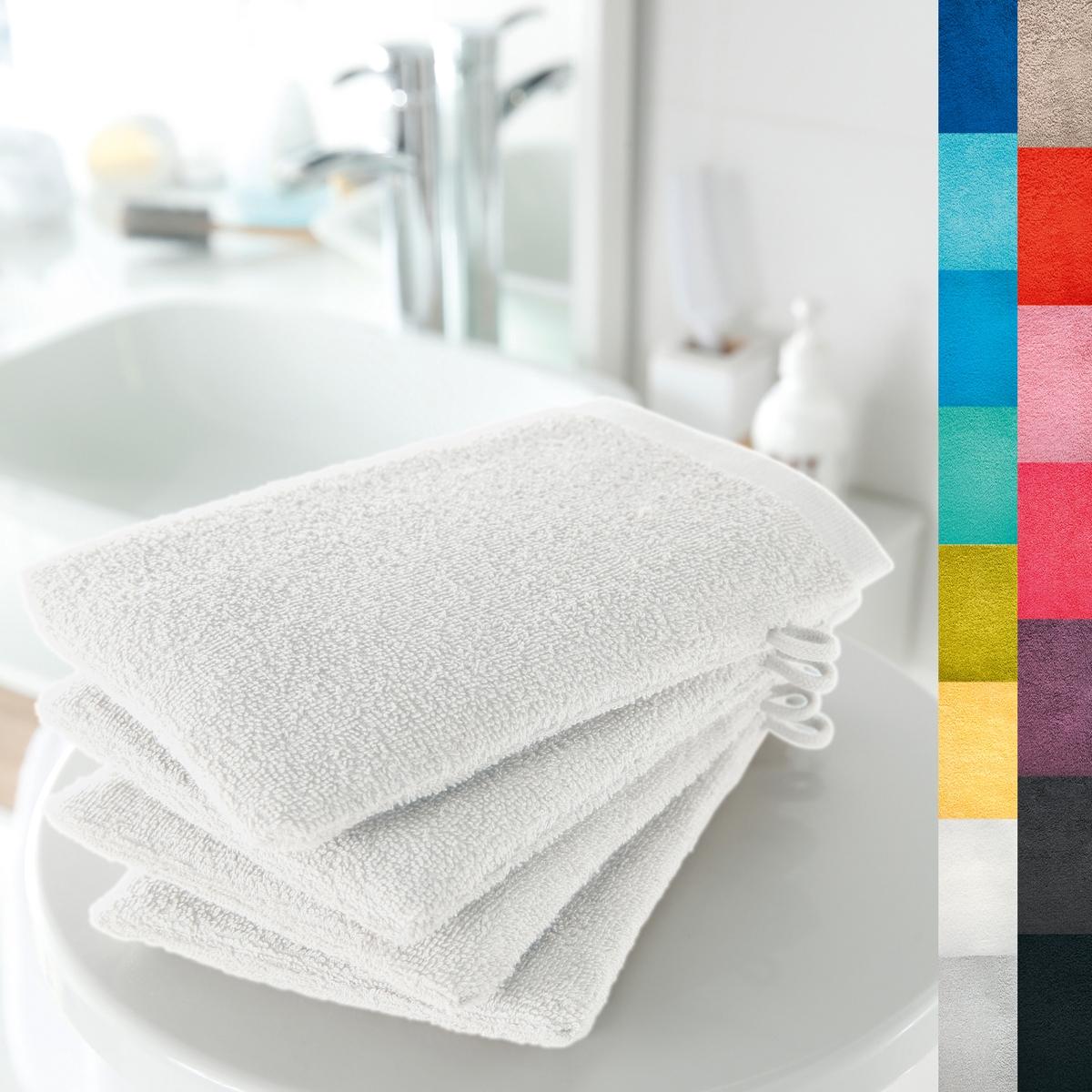 4 банные рукавички, 420 г/м?Мягкая и прочная ткань, 100% хлопка, 420 г/м?. Кайма крупинки. Отличные впитывающие свойства. Размер 15 х 21 см. Стирка при 60°. Превосходная стойкость цвета.  Машинная сушка. В комплекте 4 рукавички.<br><br>Цвет: белый,голубой бирюзовый,гренадин,зеленый анис,темно-серо-каштановый светлый