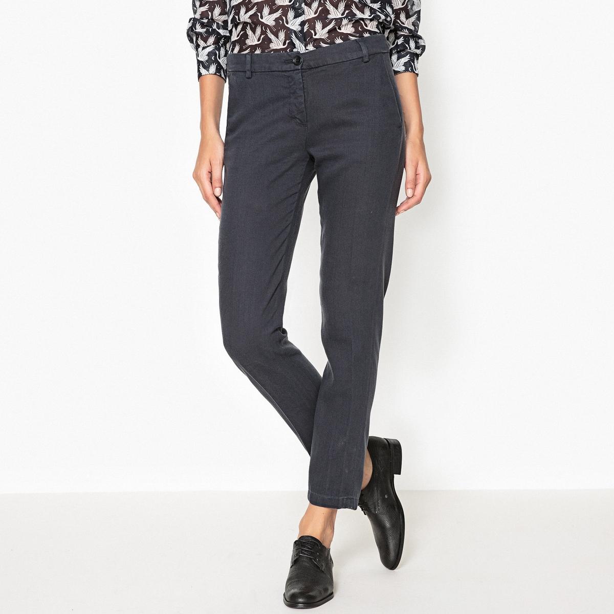 Брюки прямые PONETTE брюки прямые 100% лен