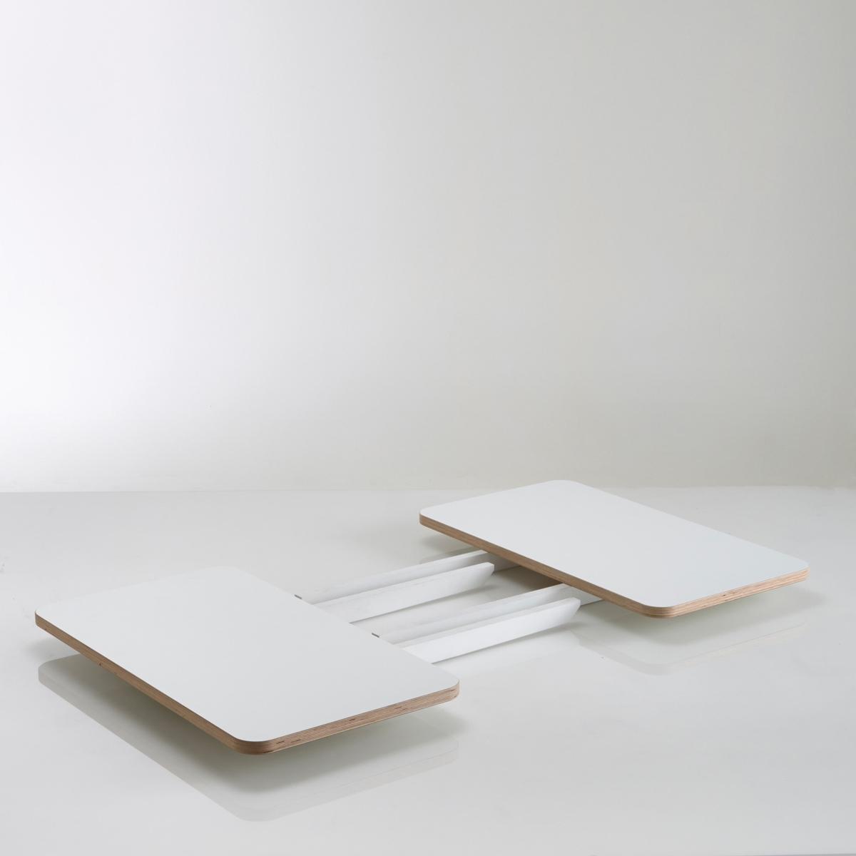 2 Удлинения для обеденного стола на 6 персон, JimiВам обеспечен большой стол с гостями благодаря удлинению Jimi, которое подходит к обеденному столу на 6 персон Jimi, продающийся на нашем сайте  laredoute.ru.Характеристики 2 удлинений для стола Jimi :   Из слоистой древесины (береза) белого цвета с покрытием против царапин .   Удлинения для стола Jimi продаются в собранном виде .      Найдите подходящий стол и другие модели из коллекции Jimi на нашем сайте laredoute.ru      Размеры 2 удлинений для стола Jimi :   Длина : 85 см   Глубина : 48 см<br><br>Цвет: белый