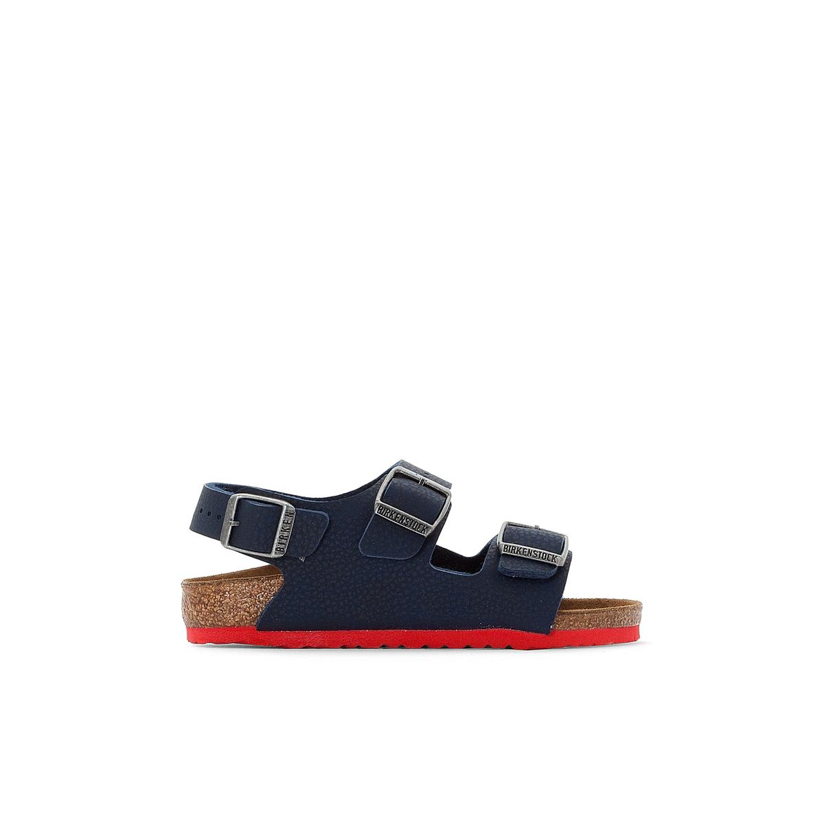 Сандалии на плоской подошве Milano 24-38 сандалии на плоской подошве с ремешком и пряжкой mundi