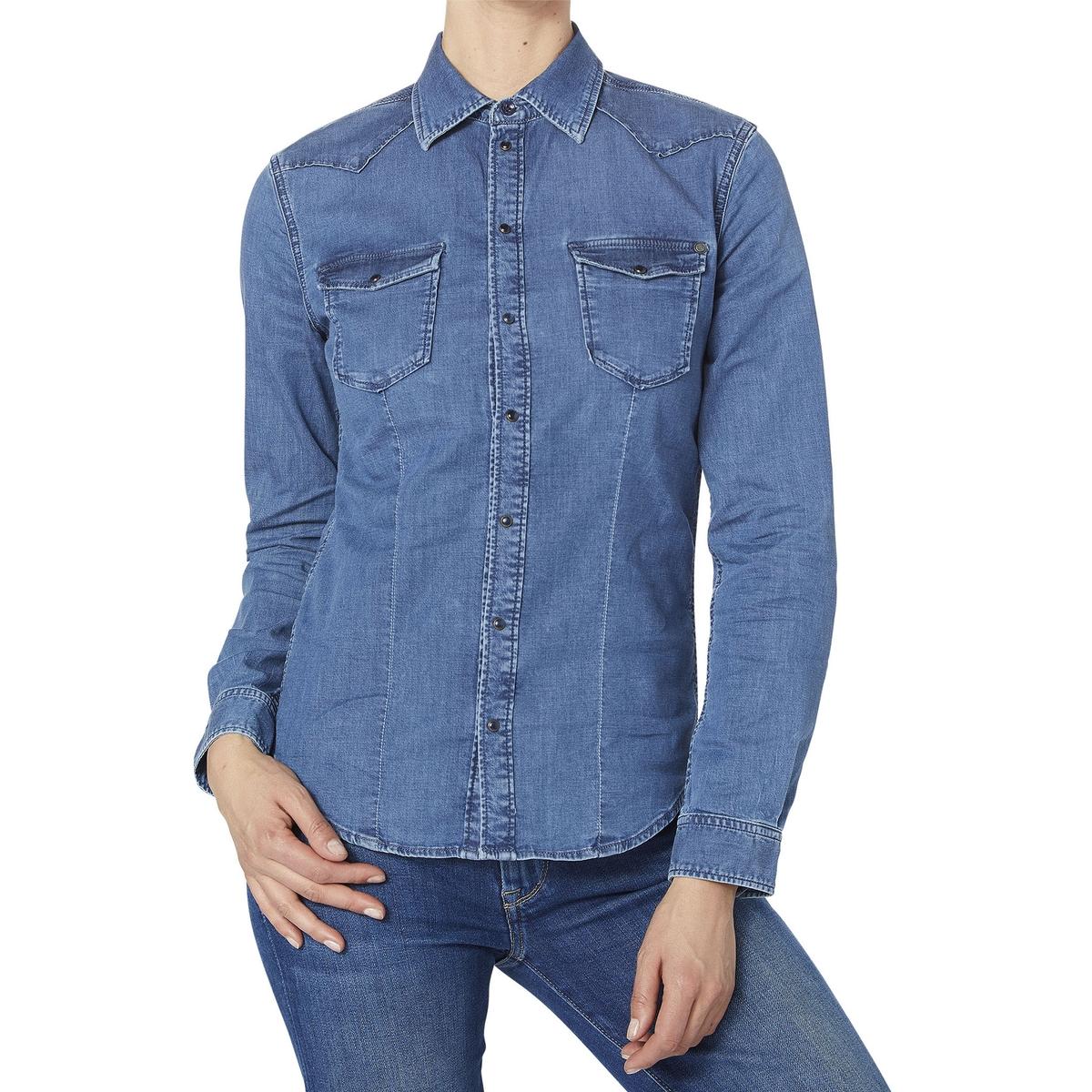 Imagen principal de producto de Camisa de manga larga Rosie - Pepe Jeans
