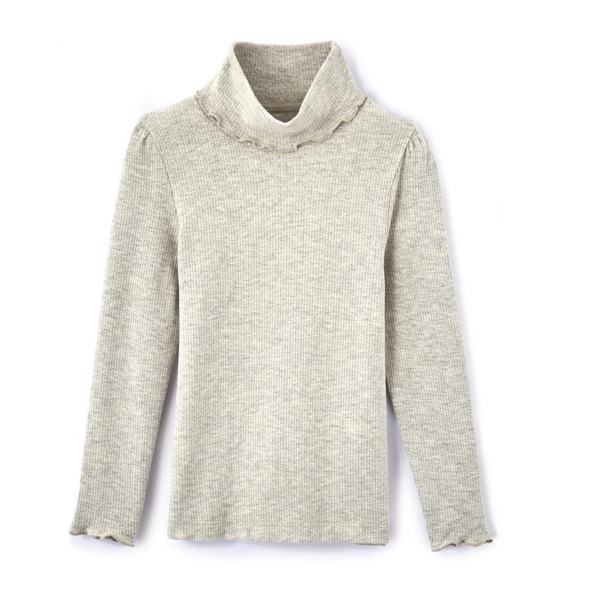 Пуловер тонкий в рубчик 3-12 лет