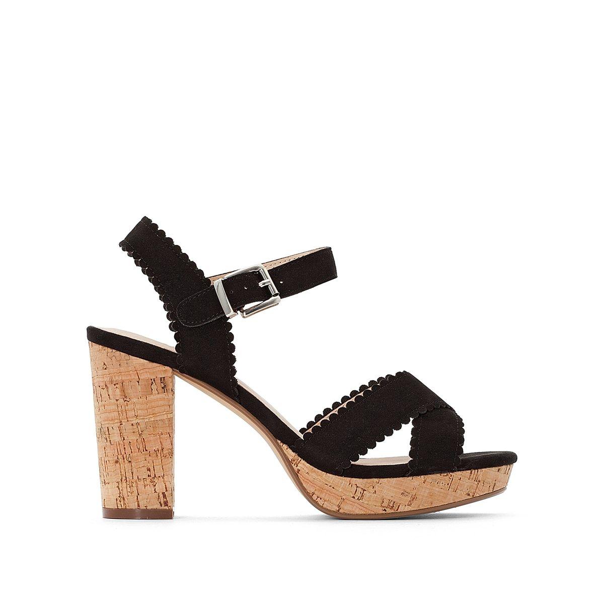 Sandales à bride à talon