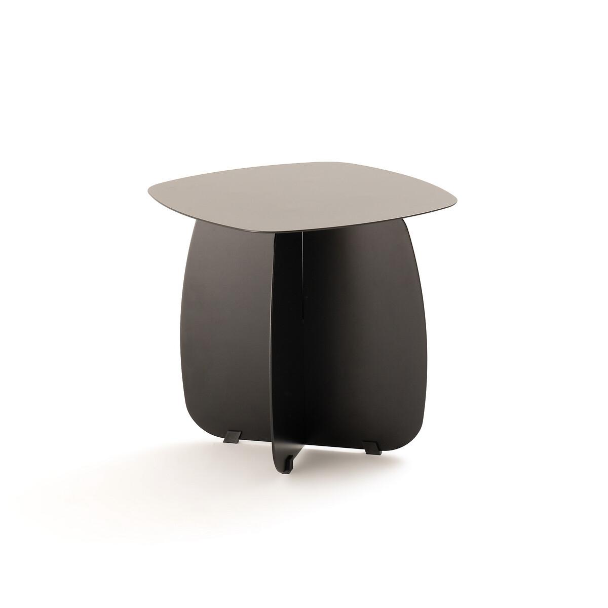 Столик LaRedoute Диванный из металла Orian единый размер черный