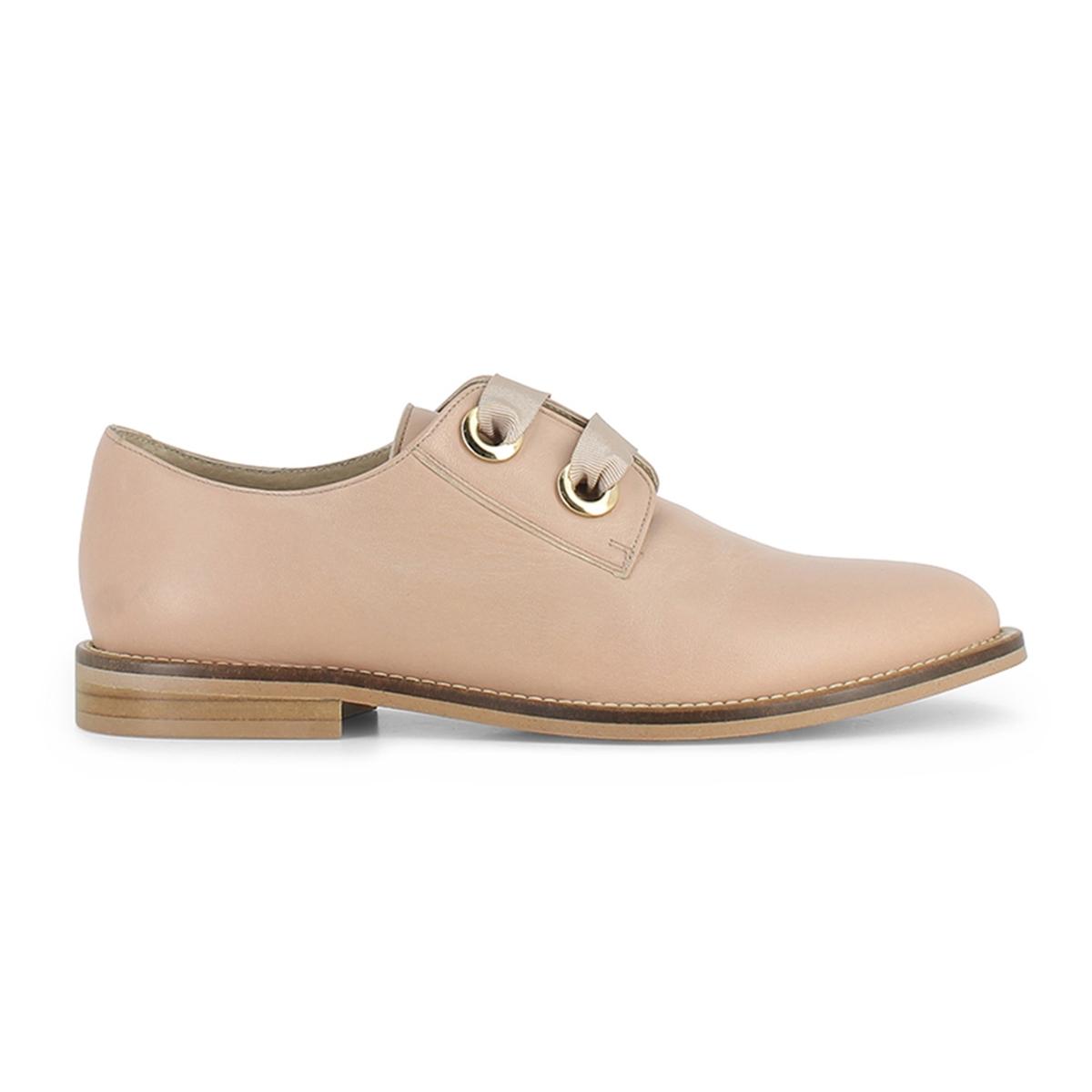 Ботинки-дерби DELI из кожи ботинки дерби из мягкой кожи takarika