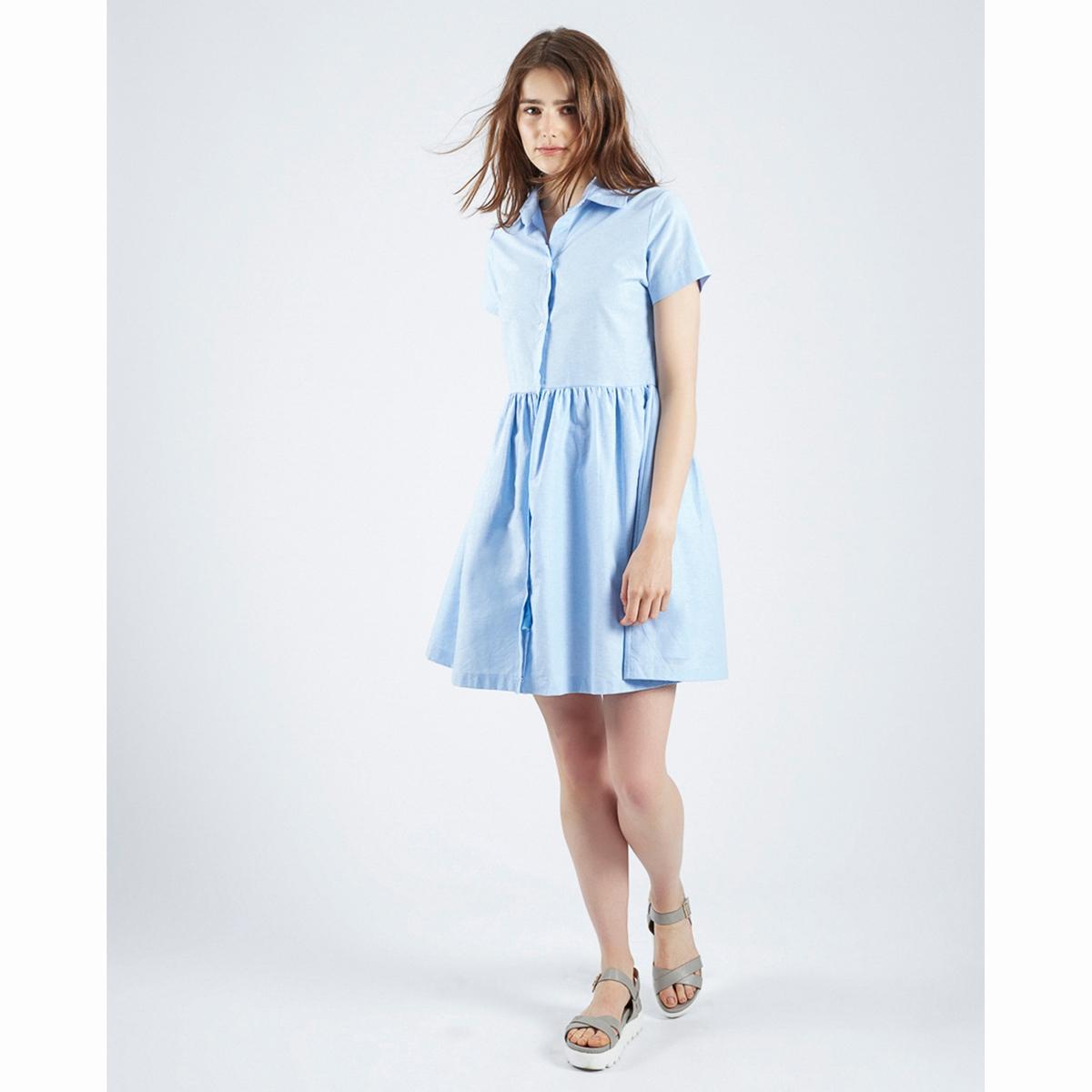 Платье Vestido Azul JackfruitСостав и описаниеМатериалы : 100% хлопокМарка : Compania FantasticaМодель : Vestido Azul JackfruitУходПросьба следовать рекомендациям, указанным на этикетке изделия  .<br><br>Цвет: голубой<br>Размер: S