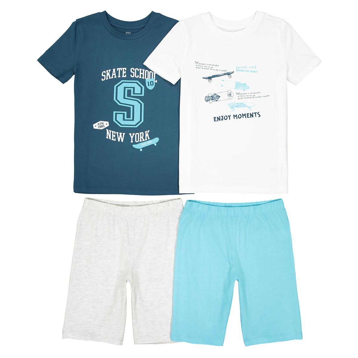Пижама с шортами 3-12 лет (комплект из 2 изделий)