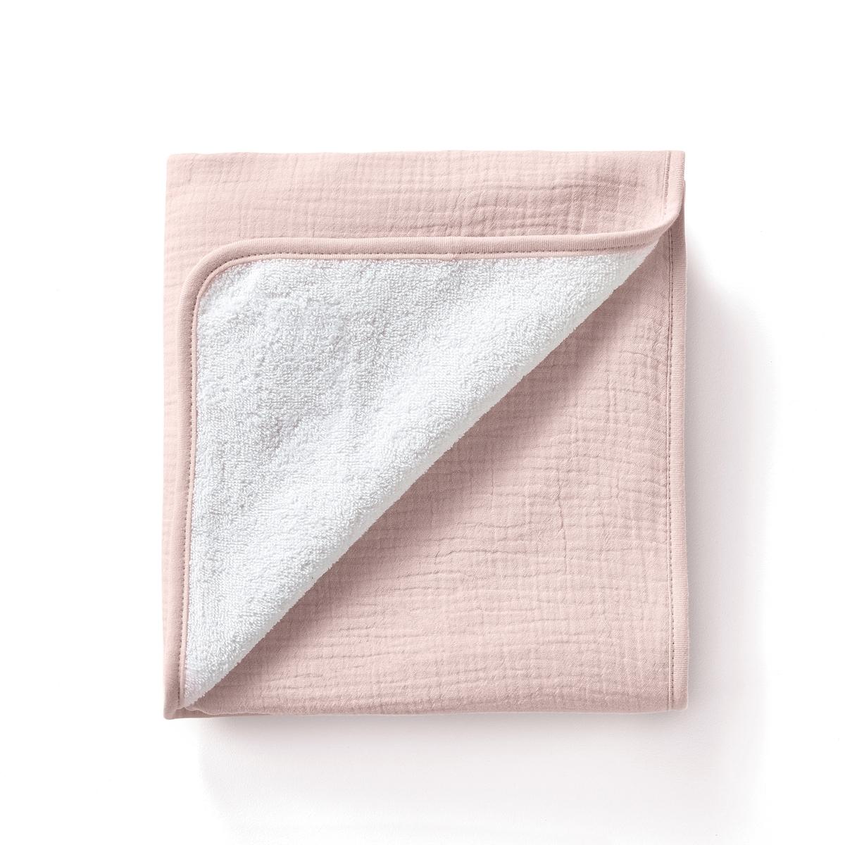 Хлопковое La Redoute Полотенце для рук Kumla 50 x 90 см розовый