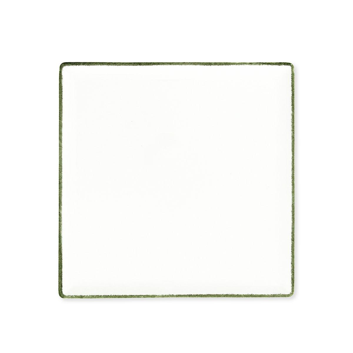 Plat carré en porcelaine 25x25cm - REMI