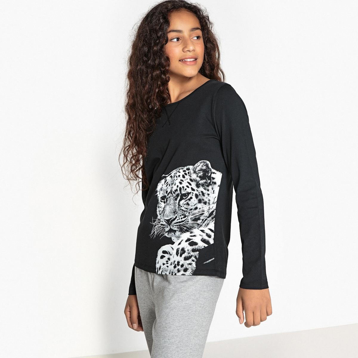 Пижама с леопардовым принтом 10 - 16 лет