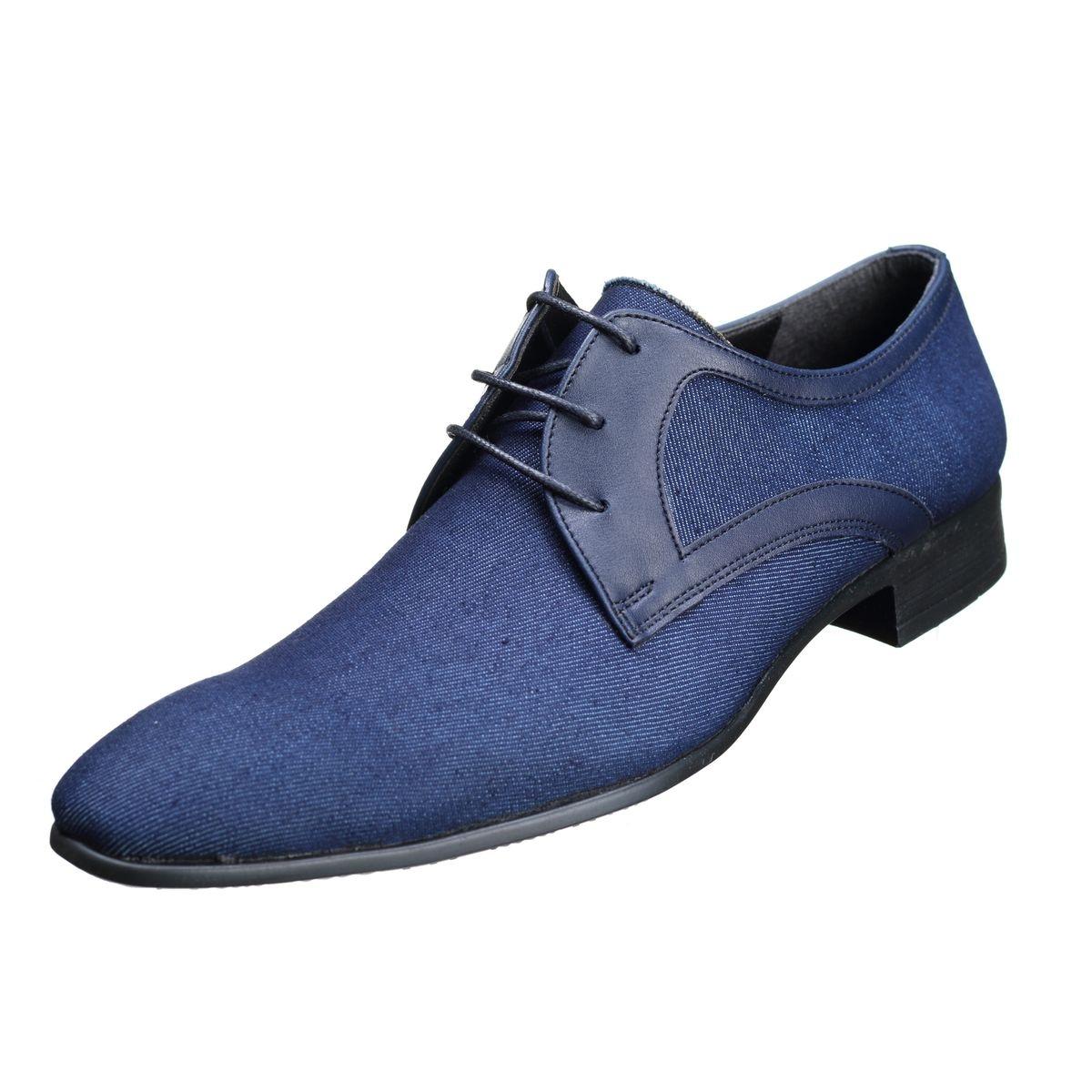 Chaussure Derbie bi matiere