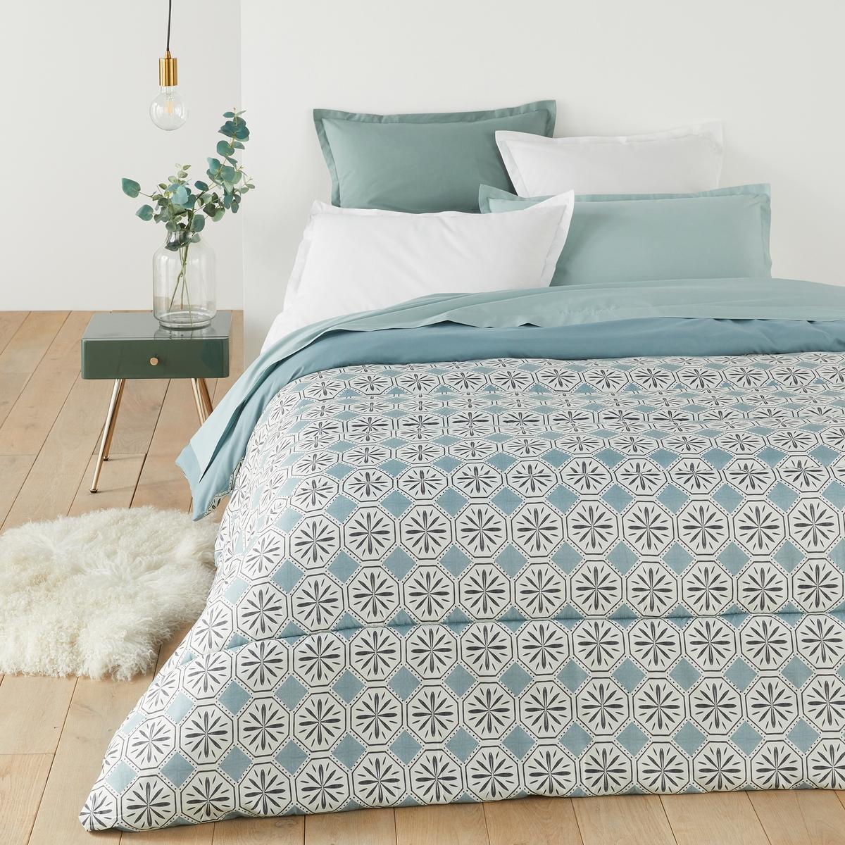 цена на Одеяло La Redoute С рисунком SALERNES 140 x 200 см синий