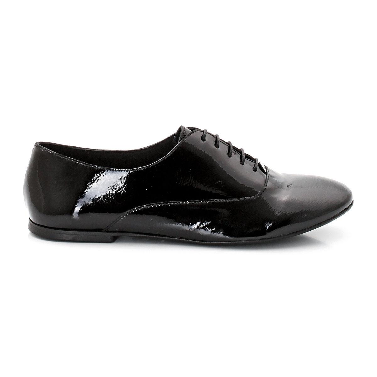 Ботинки-дерби из лакированной кожи ботинки дерби под кожу питона