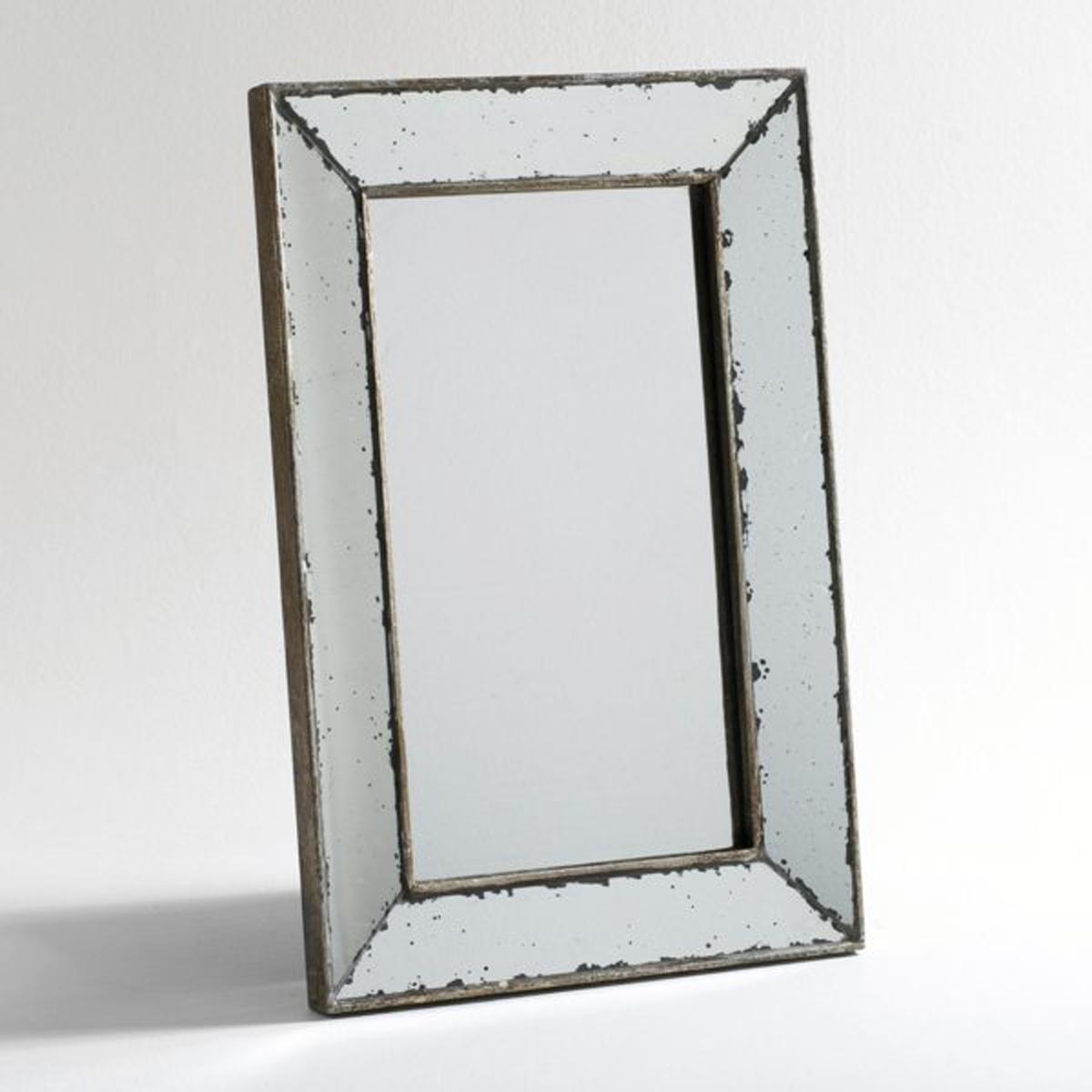 Зеркало La Redoute В ретро-стиле большая модель Д x В см Edwin единый размер серый зеркало la redoute прямоугольное большой размер д x в см barbier единый размер другие
