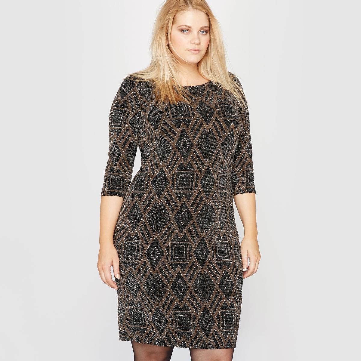 Платье вечернее из блестящего трикотажа платье вечернее russianmix цвет черный