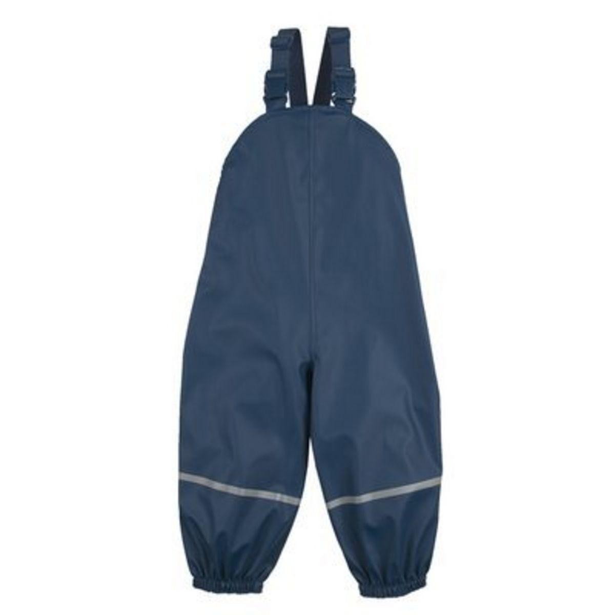 Bornino Salopette de pluie avec doublure légère pantalon de pluie...