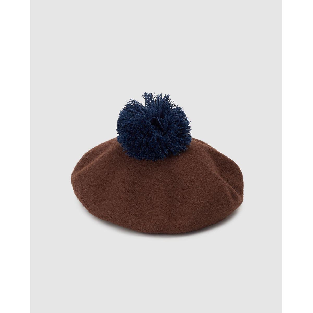 Béret Southern Cotton laine avec pompon