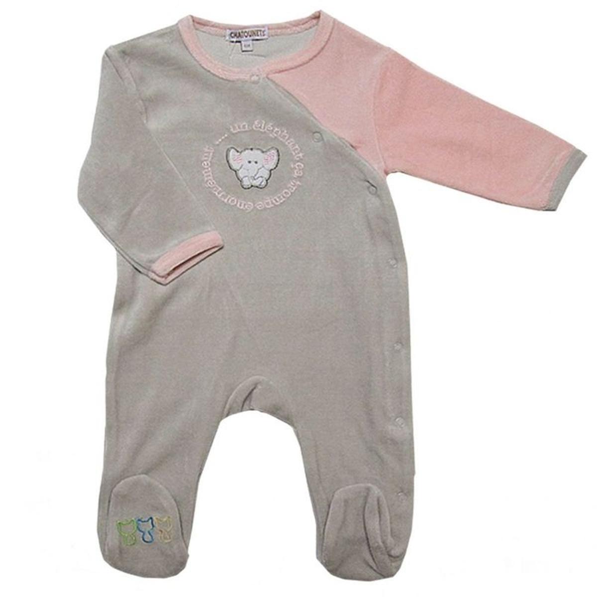 Pyjama brodé Eléphant