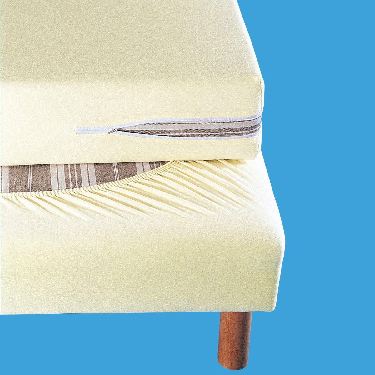Чехол LaRedoute Для боковин кровати 160 x 200 см белый чехол laredoute для кровати 100 льна 160 x 200 см белый